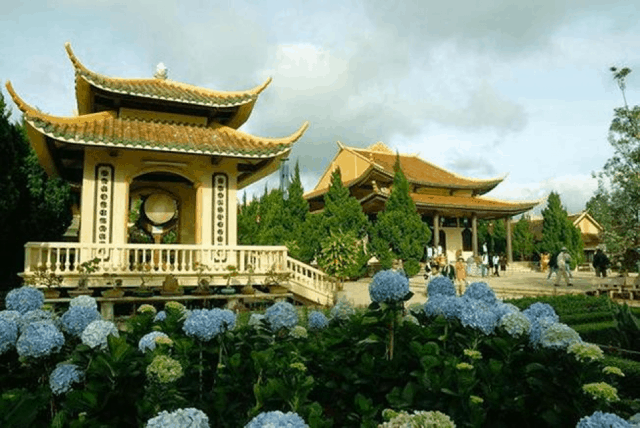 Ngàn hoa khoe sắc Thiền Viện Trúc Lâm Đà Lạt 01