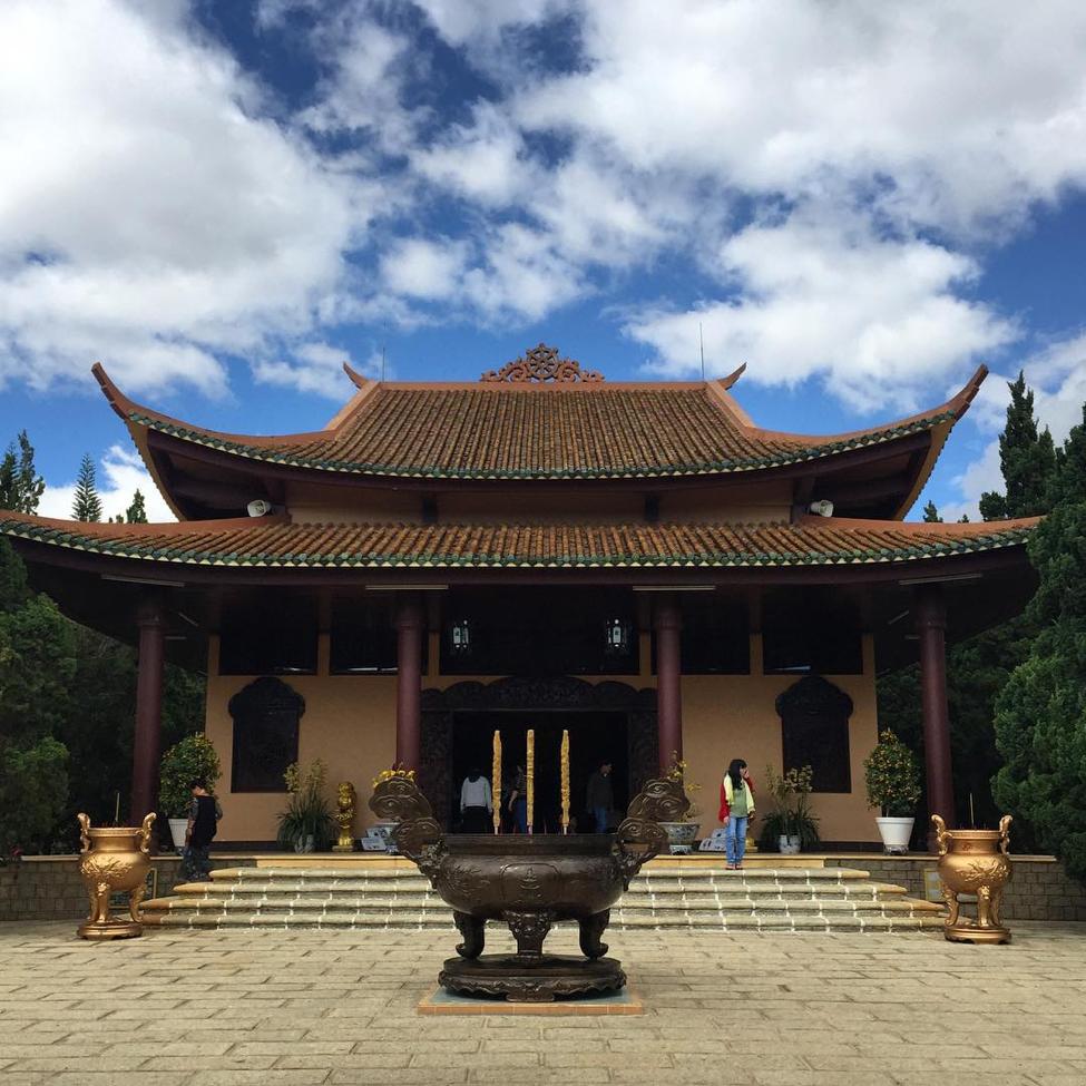 Chính điện Thiền Viện Trúc Lâm Đà Lạt