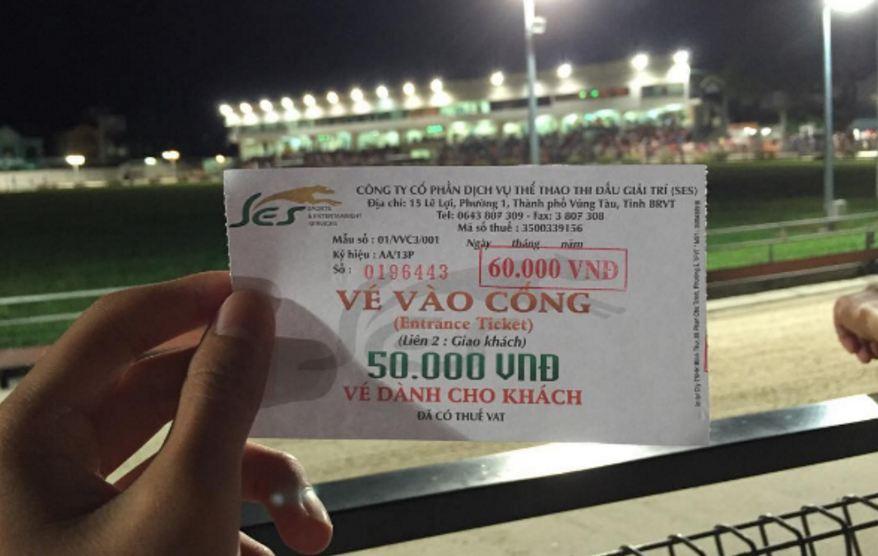 Thông tin chi tiết về giá vé đua chó Vũng Tàu