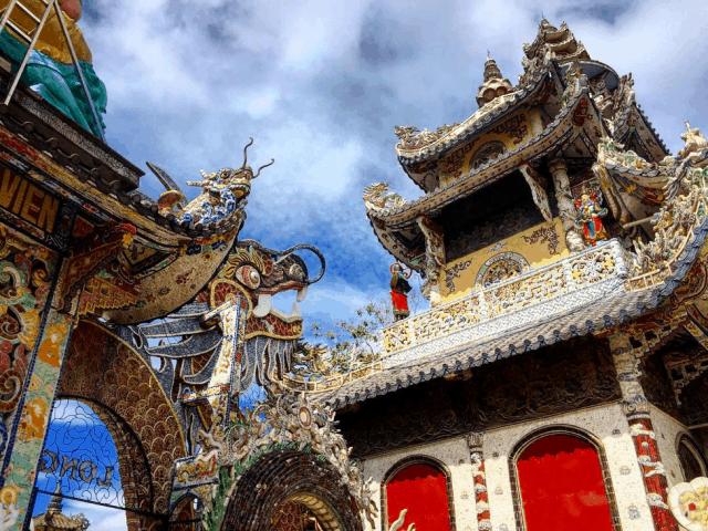 Nghệ thuật kiến trúc taị Chùa Linh Phước