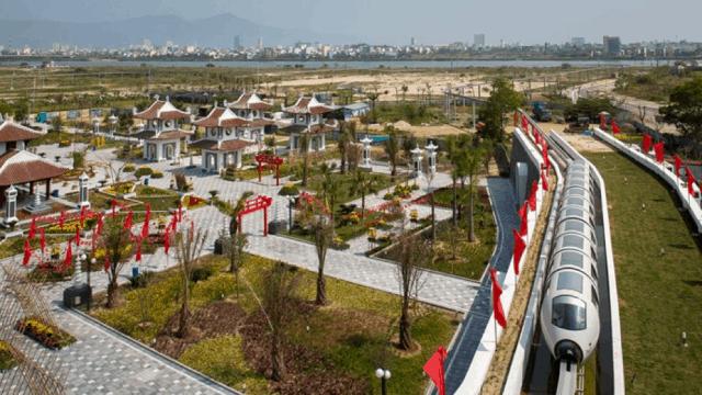 Hệ thống tàu Monorail tại Công viên Châu Á