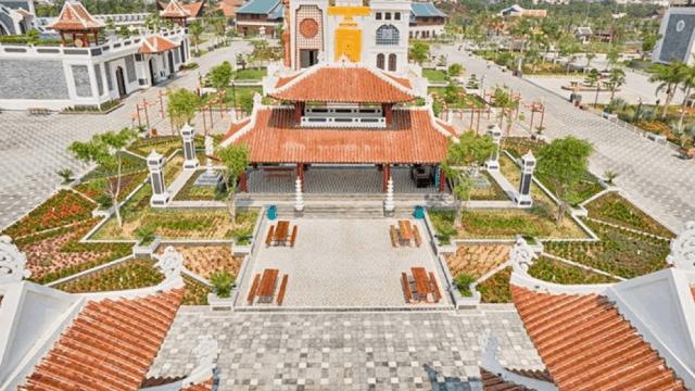 Chòi Pavilion tại Công viên Châu Á