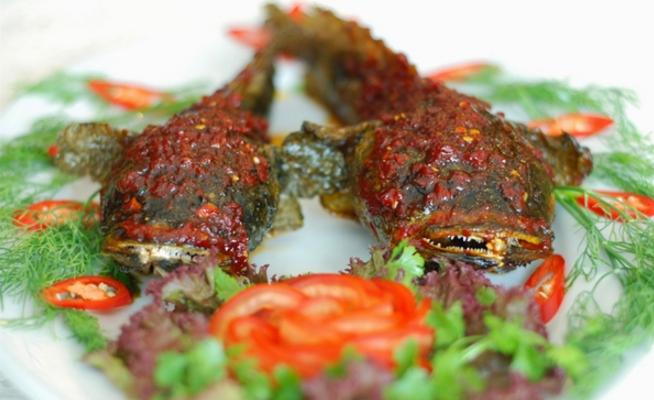 Món ăn đa dạng trên đảo Long Sơn