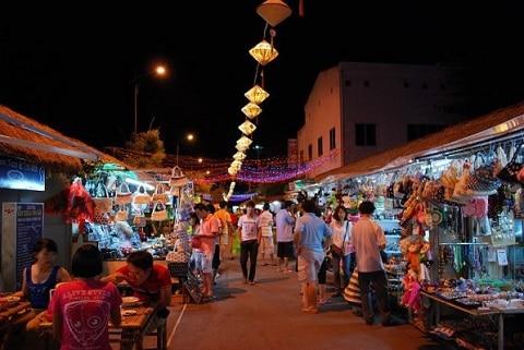 Chợ đêm nha trang nổi tiếng