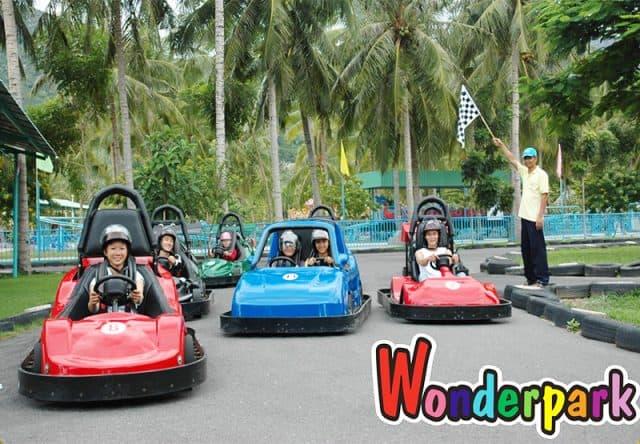 địa điểm vui chơi wonder park nha trang