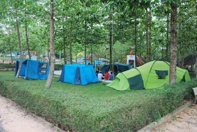 Cắm trại dã ngoại (ảnh sưu tầm)