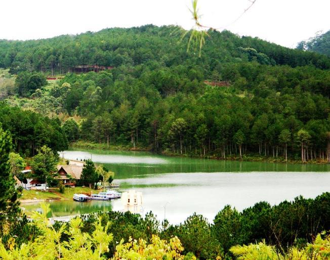 Cảnh đẹp ở Đà Lạt - hồ Tuyền Lâm