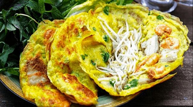 Bánh xèo Quảng Hòa - đặc sản Quảng Bình