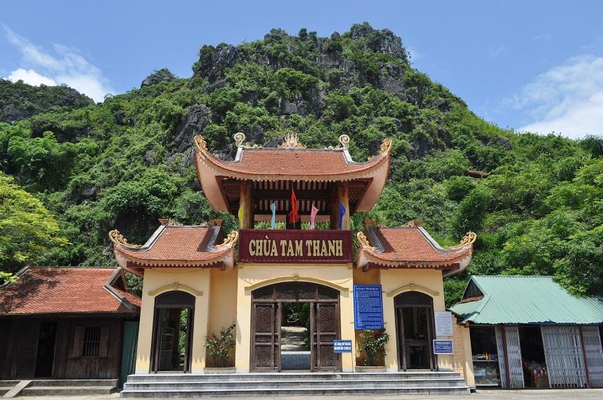 Image result for chùa tam thanh