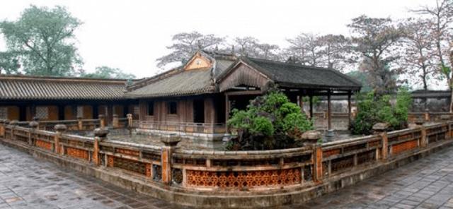 Cung Diên Thọ nơi thư giãn của Hoàng Thái Hậu - Đại Nội Huế