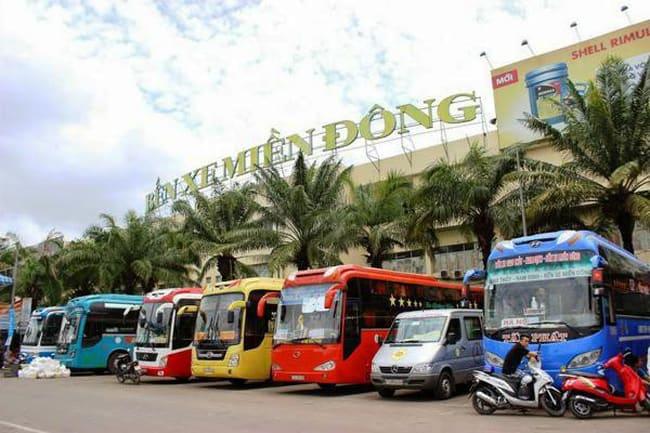 Bến xe Miền Đông (ảnh ST)