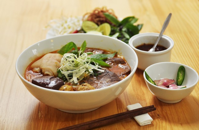 Hue beef noodle soup: Hue specialties