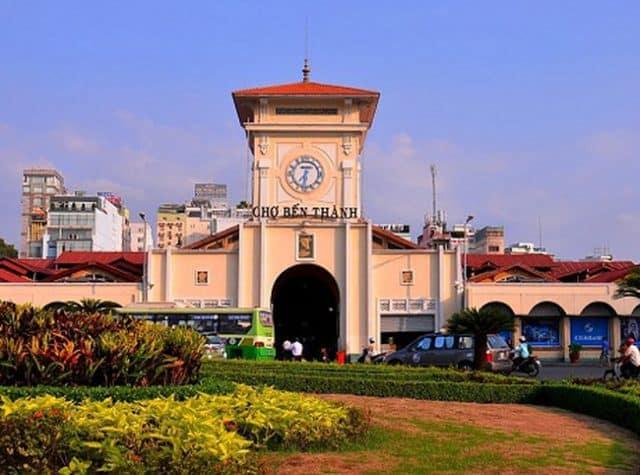 Hình ảnh khu chợ nổi tiếng nhất Sài Gòn - Chợ Bến Thành (Ảnh sưu tầm)