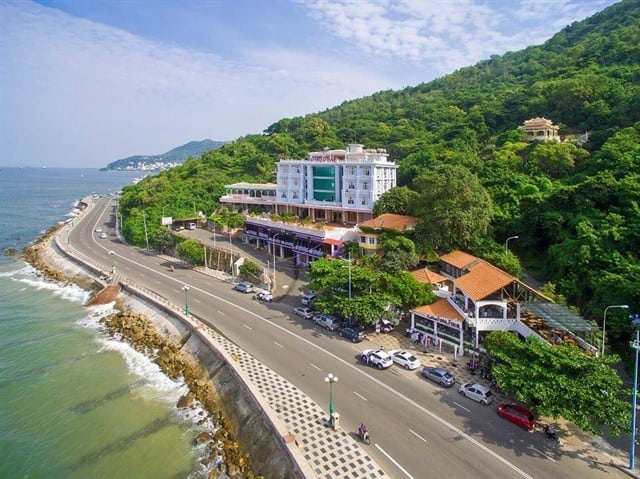 Một cung đường biển ở Vũng Tàu (ảnh ST)