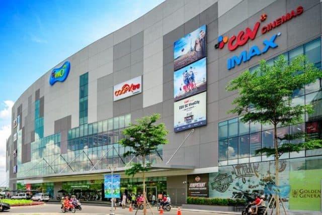 Một trong những trung tâm thương mại ở Sài Gòn (ảnh ST)