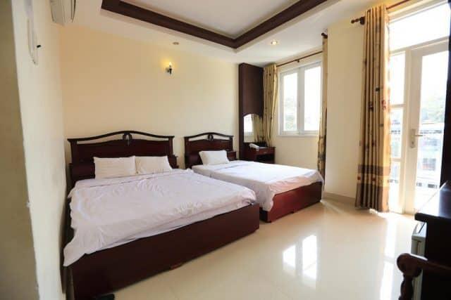Một phòng của nhà nghỉ Tuấn Việt (ảnh ST)