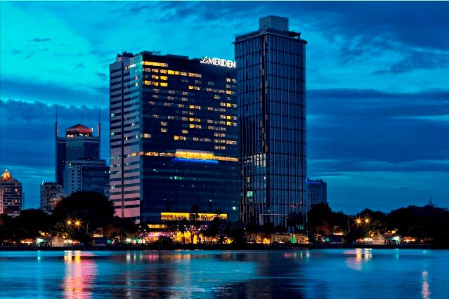 Toàn cảnh khách sạn Le Méridien Sài Gòn