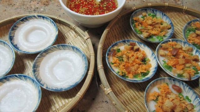 Bánh bèo thơm ngon cực rẻ ở Quy Nhơn (ảnh: ST)