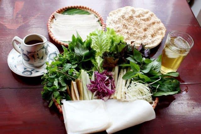 Đặc sản bánh tráng Hòa Đa Phú Yên
