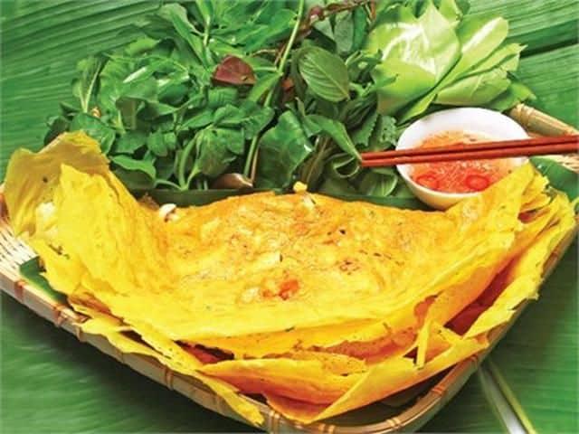 Đặc sản bánh xèo Phú Yên