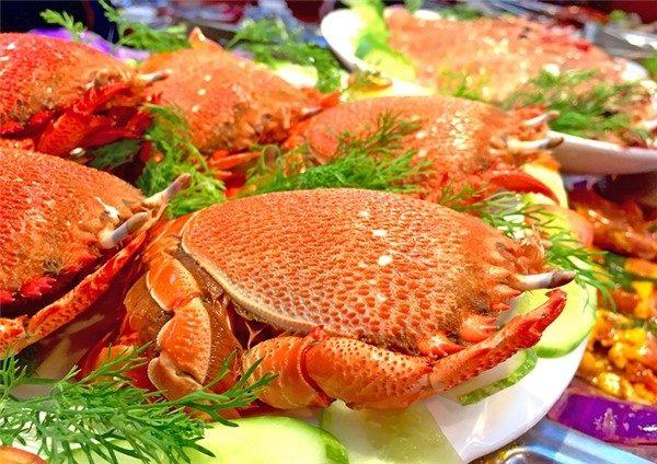 đặc sản Phú Yên cua huỳnh đế
