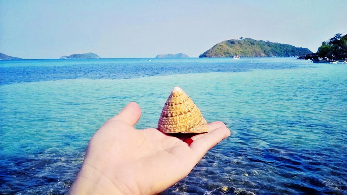 cảnh đẹp Nam Du - phượt Nam Du 4. Biển xanh ...