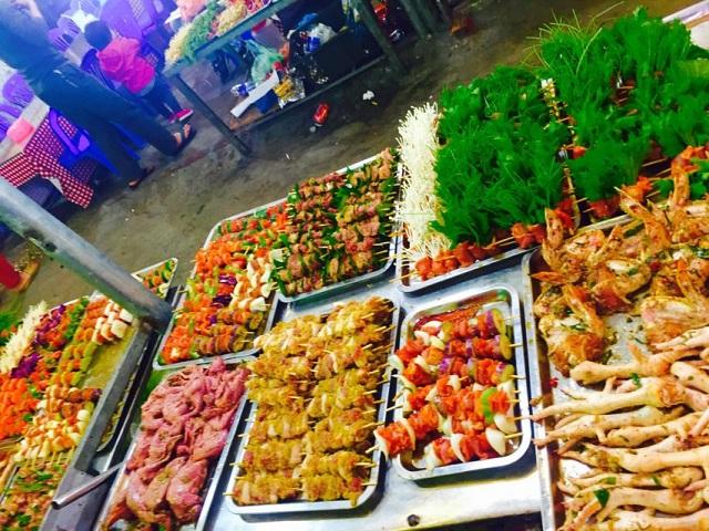Image result for chợ đêm tam đảo