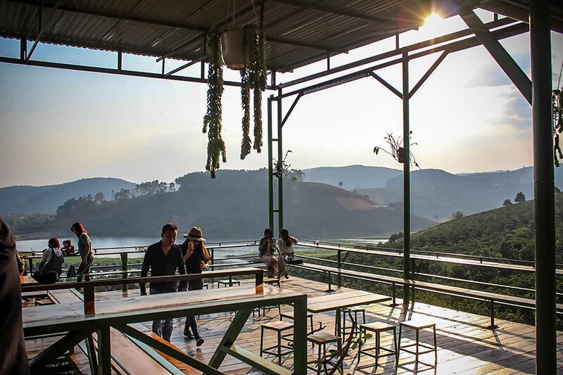 Mê Linh Coffee Garden - Quán cafe đẹp ở Đà Lạt