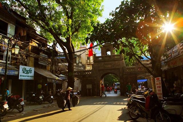 khu du lịch ở Hà Nội không thể thiếu phố cổ