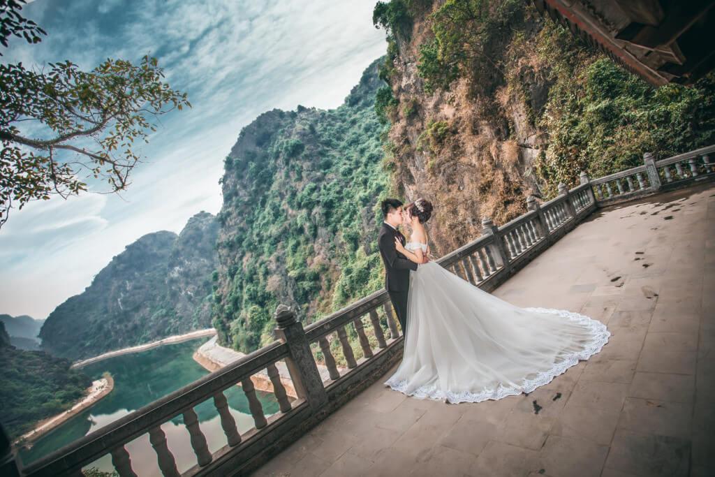 Chụp ảnh cưới ở Am Tiên tuyệt tình cốc
