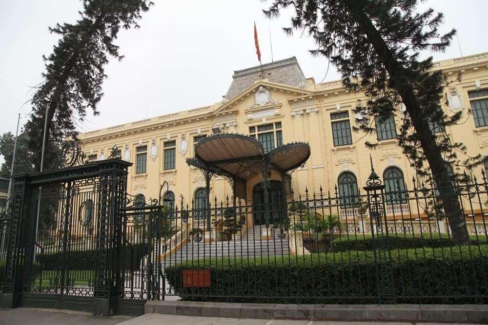Nhà khách chính phủ di tích lịch sử của Hà Nội