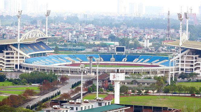Địa điểm du lịch Hà Nội sân vận động quốc gia Mỹ Đình