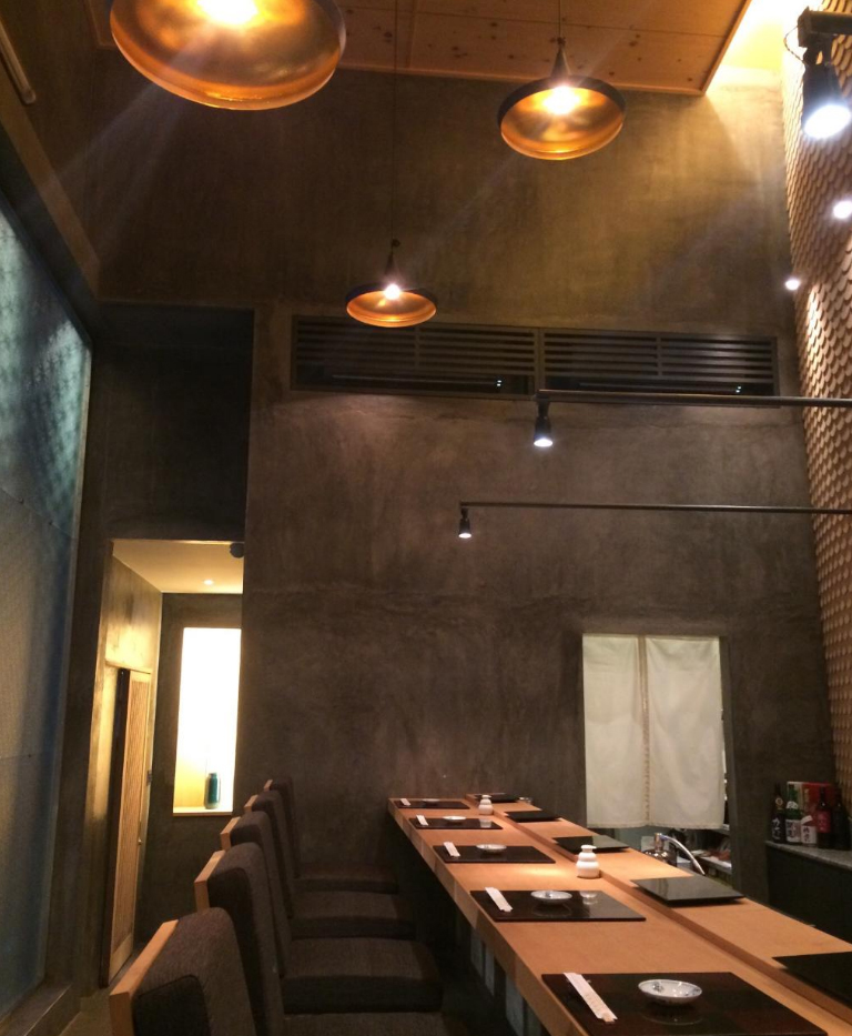 Không gian nhà hàng Sushi REI