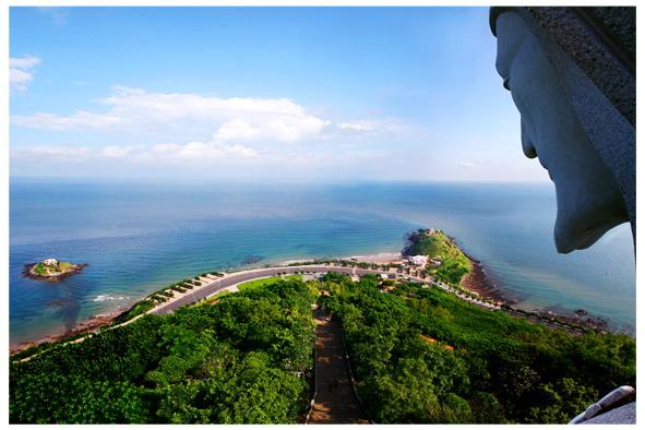 Điểm đến đẹp cho view từ trên cao Mũi Nghinh Phong (Nguồn sưu tầm)