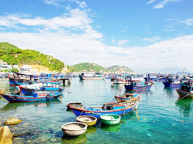 Đảo Bình Ba với nhịp sống sôi động (Ảnh: ST)
