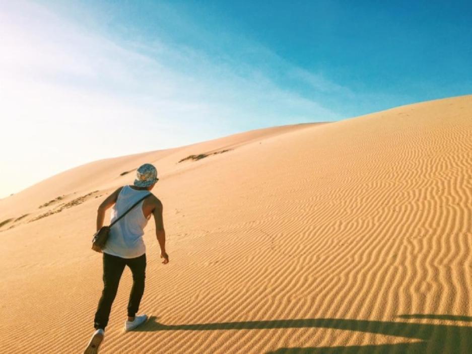 Cồn cát Quang Phú - địa điểm du lịch Quảng Bình