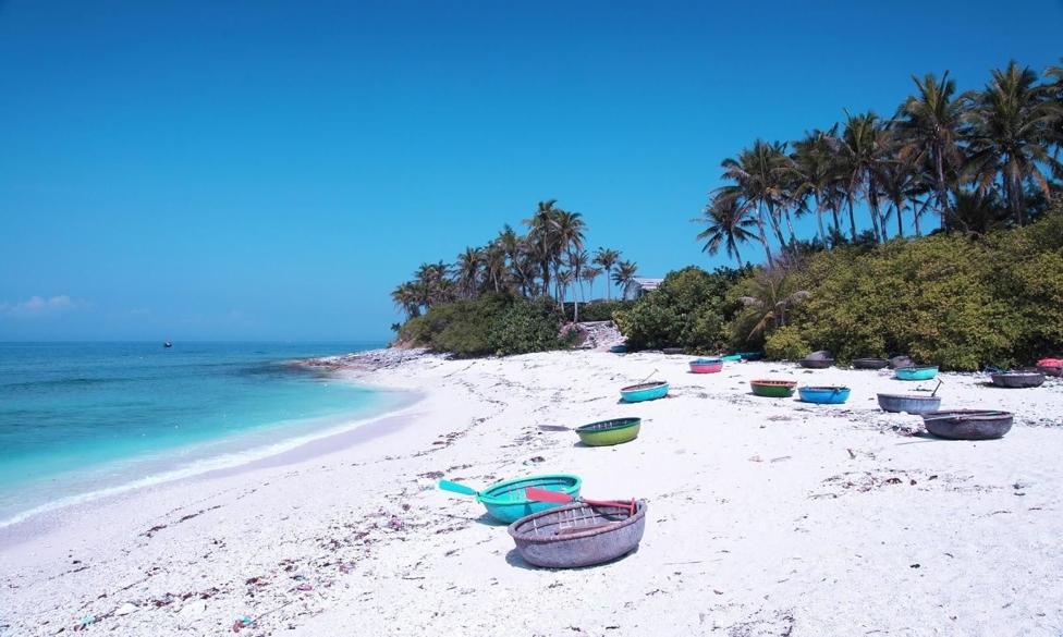 Du lịch đảo Điệp Sơn với con đường đi bộ giữa biển độc đáo 5