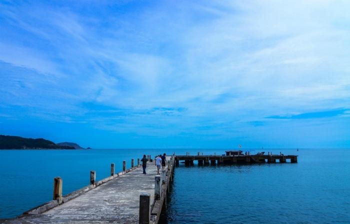 Đảo Lan Châu: Bãi biển Cửa Lò