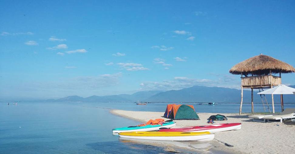 Du lịch đảo Điệp Sơn với con đường đi bộ giữa biển độc đáo 4