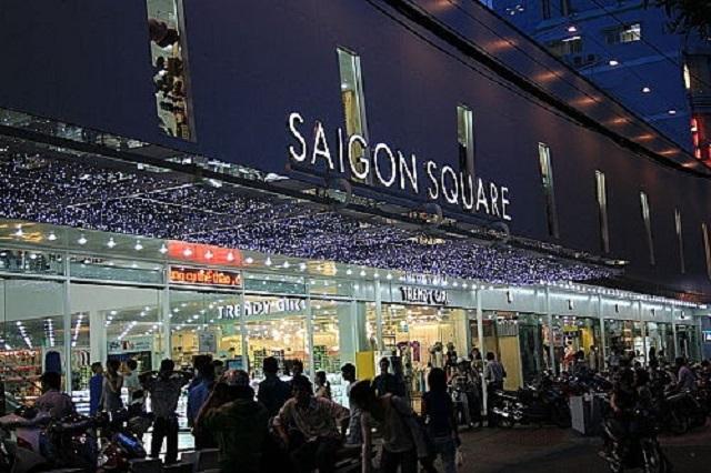 tín đồ shopping thì không thể nào không biết đến Sài Gòn Square