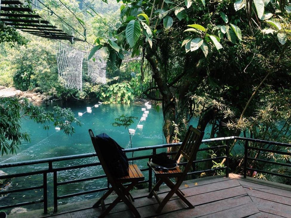 Suối Nước Moọc - địa điểm du lịch Quảng Bình