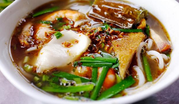Món bún mắm nêm ở Hồ Chí Minh