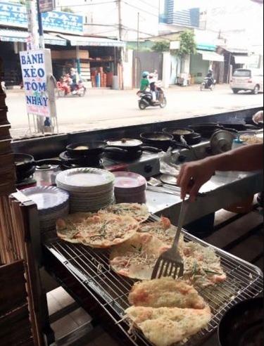 Bánh xèo tôm nhảy Thanh Diệu – Nguyễn Thị Nhỏ