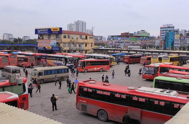 xe khách - phương tiện di chuyển đến cô tô