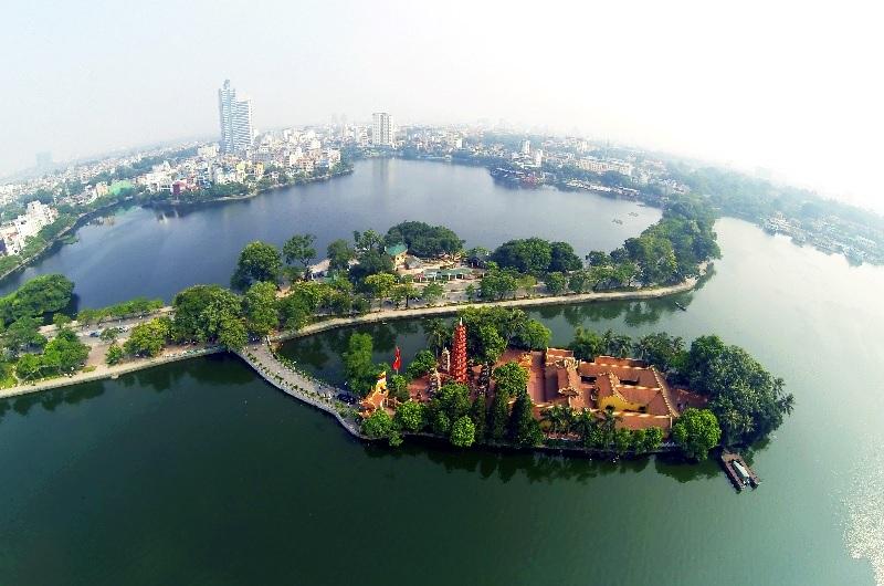 Du lịch Hà Nội nên đi đâu Hồ Tây