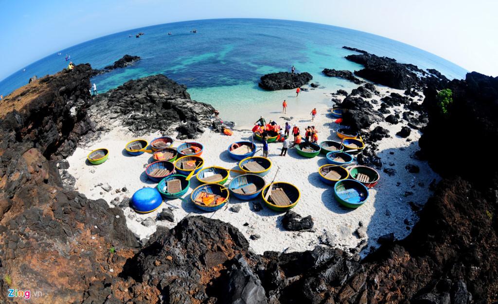 Vẻ đẹp hoang sơ của đảo Bé (Nguồn Zing.vn)