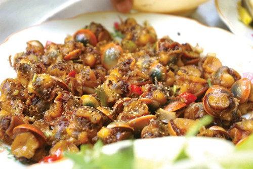 Món ăn truyền thống của người Lý Sơn (Nguồn sưu tầm)