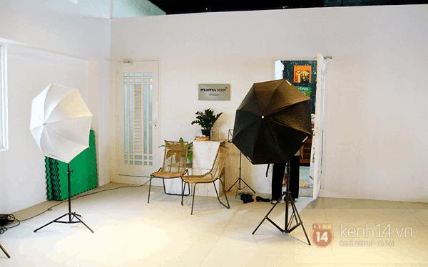 Studio phục vụ nhu cầu chụp ảnh của khách hàng