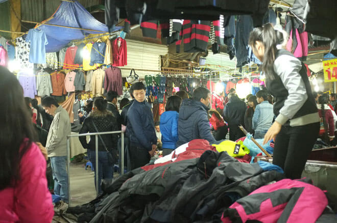 chợ đêm dịch vọng Hà Nội