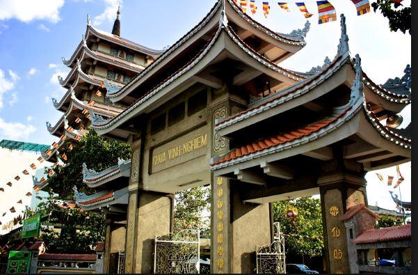 Hình ảnh Cổng Tam quan của chùa